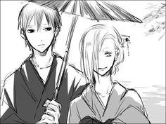 Naruto - Sai and Ino