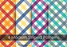 Modern Striped Vector Pattern