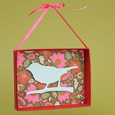 So easy - can be seasonal and easy to trade out and switch  http://blog.paper-source.com/tag/home-decor/page/2/