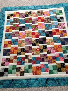 Hi, all! It's that time again - time for another great scrap quilt tutorial, simple and quick enough for charity quilts. After all, the...