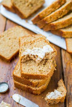 Honey Maple Beer Bread - No Yeast, No-Knead, Easy Bread!