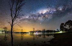 Milky Way over Bonnie Doon by Neil Creek