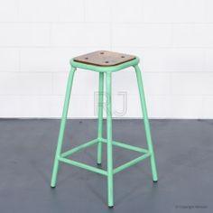 Buy Tall Baez Stool Mint Green Online | Stools | Chairs - Retrojan