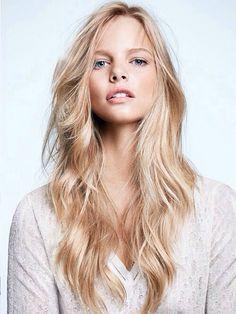 long blonde locks