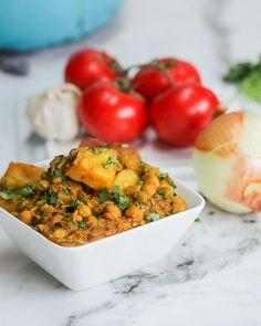 Simple Veggie Curry #VeganFridays