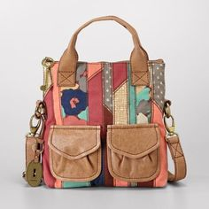 Fossil Modern Cargo Small Foldover so cute Fossil Watches, Fossil Bags, Johnny Depp, Best Travel Tote, Bago, Tote Handbags, Leather Bag, Leather Scraps, Women's Accessories