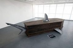 These Morbid Installations Come with Stats About Shark Poaching #coffins trendhunter.com