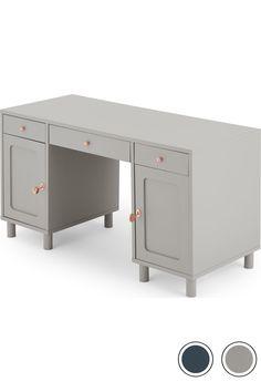 Quin Desk, Grey