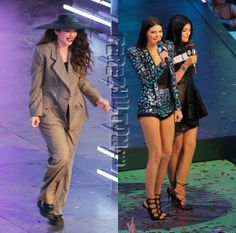 mmva muchmusic video awards kendall kylie jenner lorde fashion looks