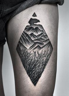 Triangular landscape by Kamil Czapiga
