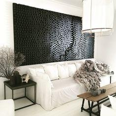 Home Decor Techniques And Strategies For Contemporary Interior Design Monochrome Interior, Contemporary Interior Design, Contemporary Furniture, Brick And Wood, White Sofas, Decoration, Interior Inspiration, Interior And Exterior, House Design