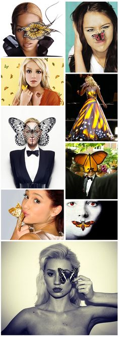 """Blog: """"The Monarch butterfly.. within the entertainment industry.. symbolise the trauma based mind control techniques being carried out predominantly on the female celebrity performing puppets.. the butterfly refers to the now declassified [is it?] Project MK-ULTRA, a sadistic mind control program.. by the CIA.. It allows for the creation of mind controlled military, celebrity or even sex slaves with multiple personalities or behaviours that can be triggered at any time by a 'handler'."""