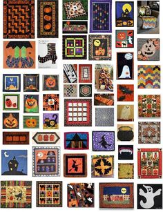 Quilt Inspiration: Free Pattern Day: Halloween (More than 50 free patterns!)