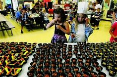 Students at Lodi Unified Schools in California learn to love legumes in honor of School Lunch Week