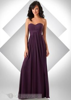if i went with long for bridesmaids i love this style dress
