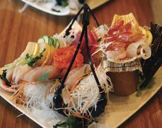 Tataki in San Francisco had the most amazing sashimi platter I've ever experienced. All fresh sustainable fish!