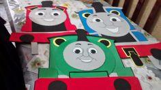 PINTANDO O 7 COM E.V.A.: Decoração do Thomas e seus amigos