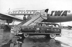 Chicago Midway Airport - TWA - Constellation