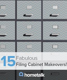 15 Fabulous Filing Cabinet Makeovers!