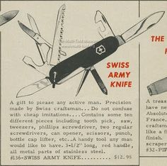 Vintage Swiss Army knife
