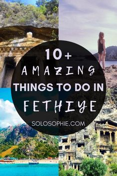 Visit Turkey travel guide/ A Guide to the 10+ Best Things to do in Fethiye Bay of Fethiye Turkey