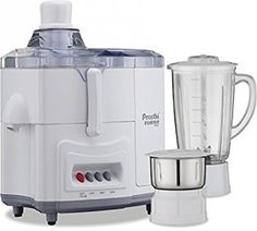 Preethi Essence Plus CJ-102 600-Watt Juicer Mixer Grinder