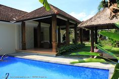 villa 2 bedroom with pool on 600m2 leasehold sale situated on a quiet spot in Kuwum Kerobokan Bali.