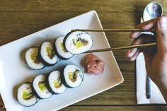 Japanese Maki roll | free image by rawpixel.com Japanese Dishes, Japanese Food, Maki Roll, How To Boil Rice, Sushi Rolls, Avocado Egg, International Recipes, Food Preparation, Free Image