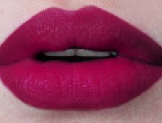 Love this matte magenta lipstick - if you know a dupe, please comment below! /Viper