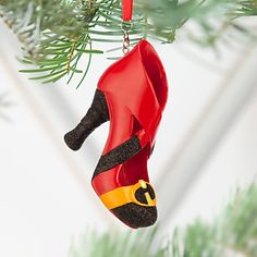 Mrs. Incredible Shoe Ornament | Disney Store l #disneyfaves