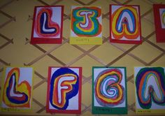 lettrines initiales maternelle Alphabet, Recherche Google, School, Lyrics, Drop Cap, Initials, Nursery School, Notebook, Alpha Bet