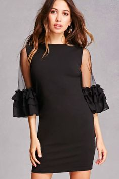 30 Gorgeous Sleeved Dresses To Wear All Summer # Outfits femme 29 Incredibly Pretty Summer Dresses With Sleeves Summer Dresses With Sleeves, Pretty Summer Dresses, Simple Dresses, Elegant Dresses, Women's Dresses, Dress Outfits, Short Dresses, Fashion Dresses, Formal Dresses