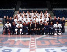 The 2001-2002 New York Islanders.
