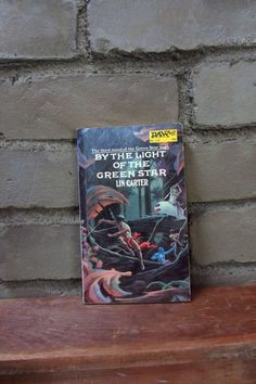 $8 By the Light of the Green Star by Lin Carter