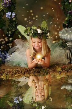 Fairies photo shoot