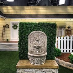 Join us on @QVC with our Bernini Rechargeable Indoor/Outdoor Wall Fountain. Your fountain can be used anywhere you'd like because it's completely chord free!  #Bernini #fountains #BerniniFountains #fountain #home #garden #gardening #homeandgarden #relax #serene #water #lawn #patio #sandiego #california #QVC #QVCgarden #outdoor #outdoors #green #water #sunny #sunshine #backyard #gardenfountain #nature #spring #summer