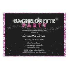 Bachelorette Party Bus Pass Invitation Invitation Ideas