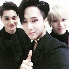 #2015SAF -- VIXX Ravi, EXO Kai, SHINee Taemin