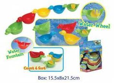 Duck Family Water Play Set - mini $9.95