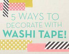 「washi tape diy」の画像検索結果