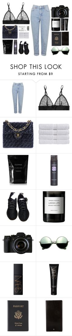 """""""You Needa Cut It"""" by ashola18 ❤ liked on Polyvore featuring Topshop, STELLA McCARTNEY, Chanel, Christy, Cleanse by Lauren Napier, adidas, Byredo, We Are Replay, Revo and NARS Cosmetics"""