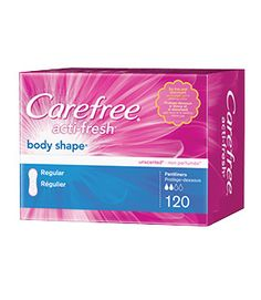 With Carefree Liners, you can stay fresh all day long - and who doesn't agree that fresh is definitely fierce?! :)