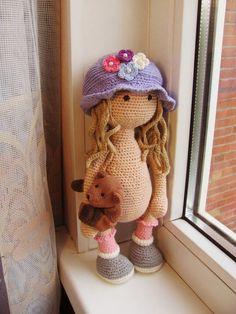 Mesmerizing Crochet an Amigurumi Rabbit Ideas. Lovely Crochet an Amigurumi Rabbit Ideas. Baby Girl Crochet, Crochet Baby Hats, Crochet For Kids, Free Crochet, Crochet Doll Pattern, Crochet Dolls, Crochet Patterns, Knitting Patterns, Amigurumi Patterns
