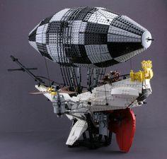 23 Fantastical Steampunk LEGO Builds Designed From Scratch