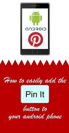 Pin it button!!! Yay!!! crafty