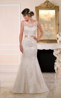 Wedding Dress from Stella York Style 6055
