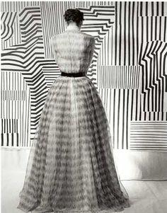 OP Art at Lilijevalchs, 1952. Photo by Kerstin Bernhard. S)