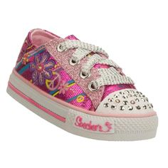 Skechers SK10151 Girls Twinkle Toes Trainers - Pink £34.95 Skechers Mens  Shoes 3c16feb9e3