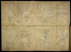 Dress patterns, 1860