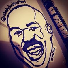 Just when we thought the #steveharvey #meme had its day... #oscars #academyawards #oscars2017 #moonlight #lalaland #cutout #quicksketch #fastdrawing #bnw #blackandwhite #memes #art #ink #graffiti #artist #funny #comedy #awards #andthewinneris #pasteup